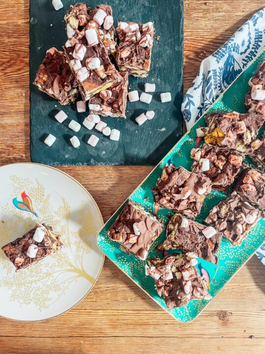 How to make Crunchie Rocky Road