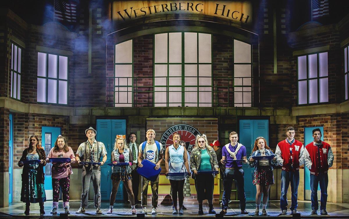 Heathers The Musical - UK Tour 2021 - Photos by Pamela Raith (1)