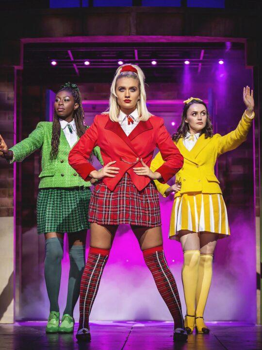 Heathers UK Tour Review L-R Merryl Ansah, Maddison Firth & Lizzie Parker - Heathers UK Tour 2021 - Photos by Pamela Raith (14)