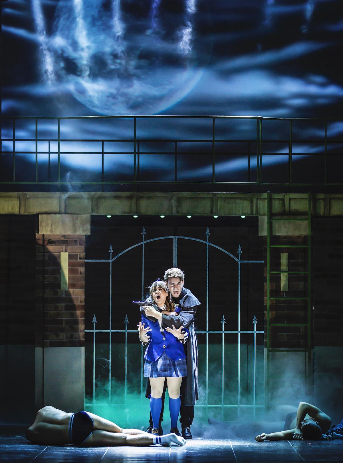 Review of Heathers The Musical Uk Tour Rebecca Wickes (Veronica) & Simon Gordon (JD) - Heathers UK Tour 2021 - Photos by Pamela Raith (7)
