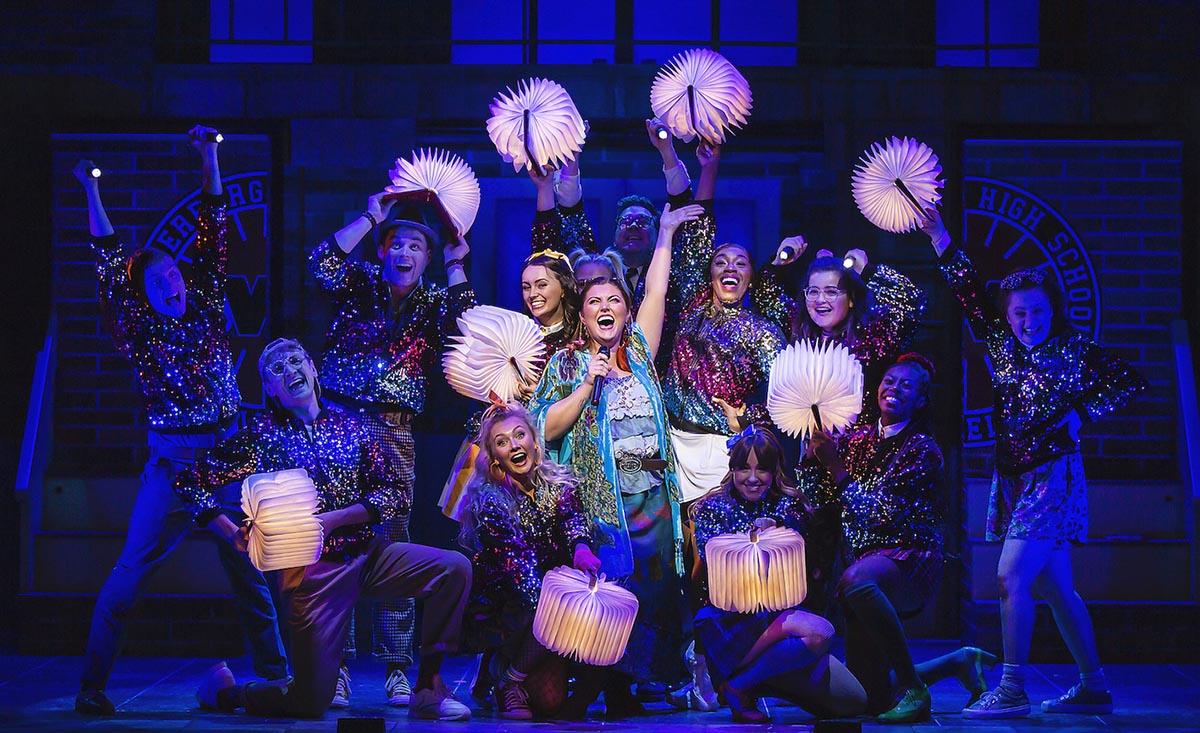 The cast of Heathers The Musical - UK Tour 2021 - Photos by Pamela Raith (9)